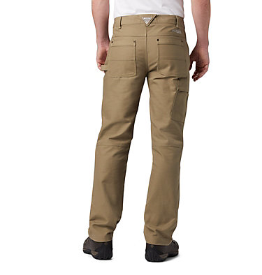 Men's PHG Rough Tail™ Work Pants Roughtail™ Work Pant | 632 | 38, Flax, back