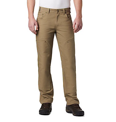 Men's PHG Rough Tail™ Work Pants Roughtail™ Work Pant | 632 | 38, Flax, front