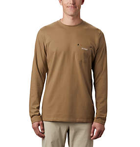 Men's PHG Roughtail™ Work Long Sleeve Pocket T-Shirt