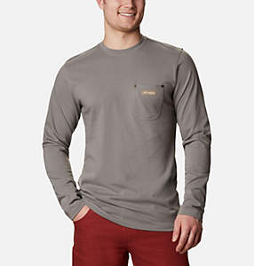 Men's PHG Roughtail™ Work Long Sleeve Pocket T-Shirt - Tall