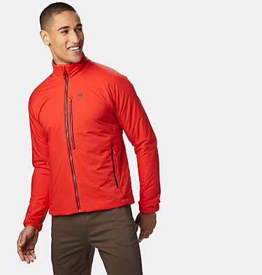 Men's Kor Strata™ Jacket Kor Strata™ Jacket | 448 | L, Fiery Red, front