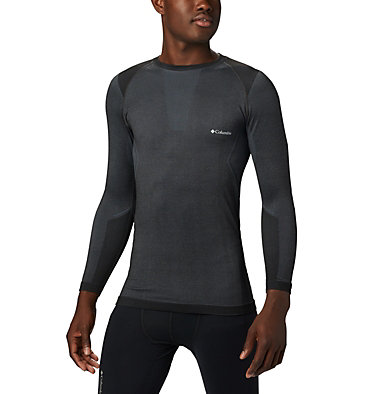 Maglia tecnica a maniche lunghe da uomo M Engineered Long Sleeve Crew | 441 | L, Black, front
