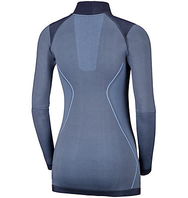 Women's Engineered Long Sleeve Half-Zip Crew , back