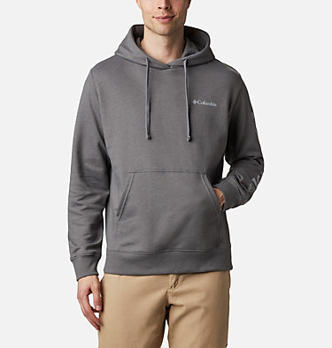 Men's Viewmont™ II Sleeve Graphic Hoodie Viewmont™ II Sleeve Graphic Hoodie   511   M, City Grey, Columbia Grey, front