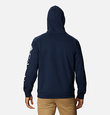Men's Viewmont™ II Sleeve Graphic Hoodie - Tall Viewmont™ II Sleeve Graphic Hoodie | 100 | 5XT, Collegiate Navy, White, back
