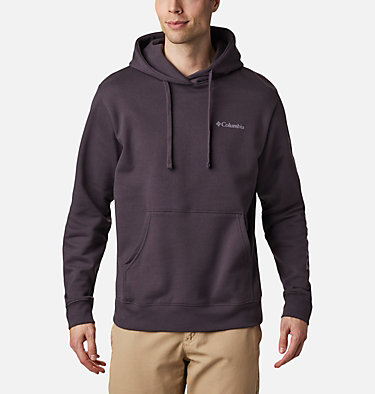 Men's Viewmont™ II Sleeve Graphic Hoodie - Tall Viewmont™ II Sleeve Graphic Hoodie | 100 | 5XT, Dark Purple, Shale Purple, front