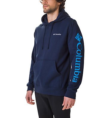 Men's Viewmont II Sleeve Graphic Hoodie Viewmont™ II Sleeve Graphic Ho | 030 | S, Collegiate Navy, front