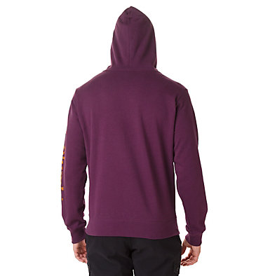 Men's Viewmont II Sleeve Graphic Hoodie Viewmont™ II Sleeve Graphic Ho | 030 | S, Black Cherry, back