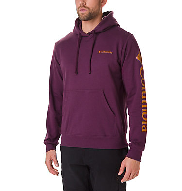 Men's Viewmont II Sleeve Graphic Hoodie Viewmont™ II Sleeve Graphic Ho | 030 | S, Black Cherry, front