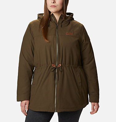 Women's Chatfield Hill™ Jacket - Plus Size Chatfield Hill™ Jacket | 607 | 1X, Olive Green, front