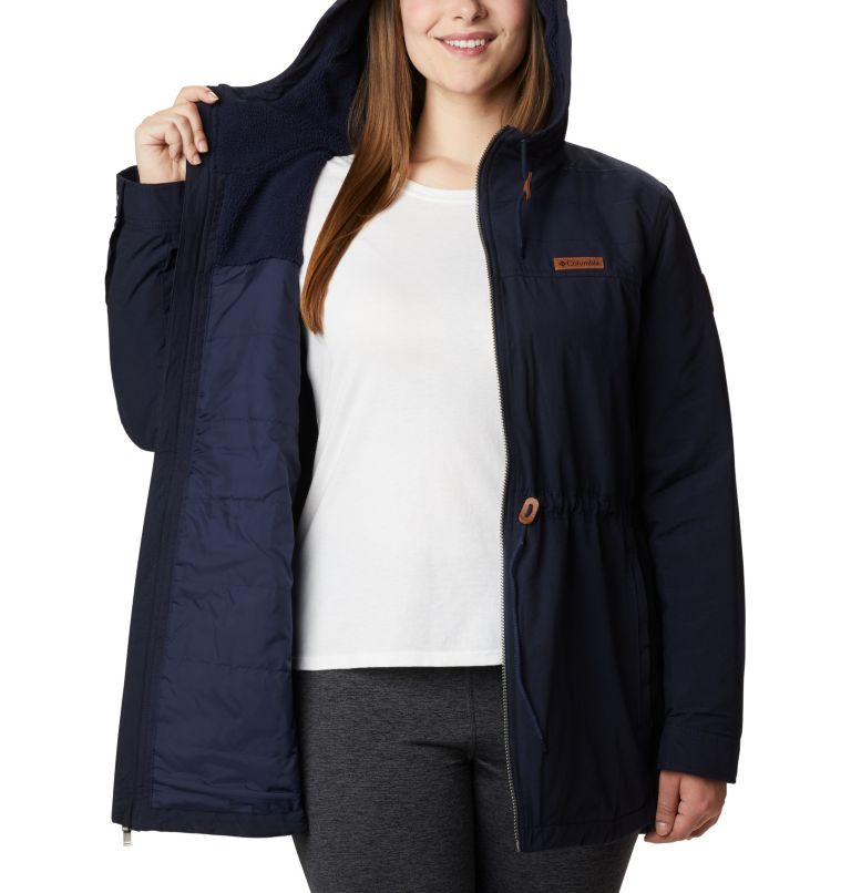 Chatfield Hill™ Jacket | 472 | 1X Women's Chatfield Hill™ Jacket - Plus Size, Dark Nocturnal, a3