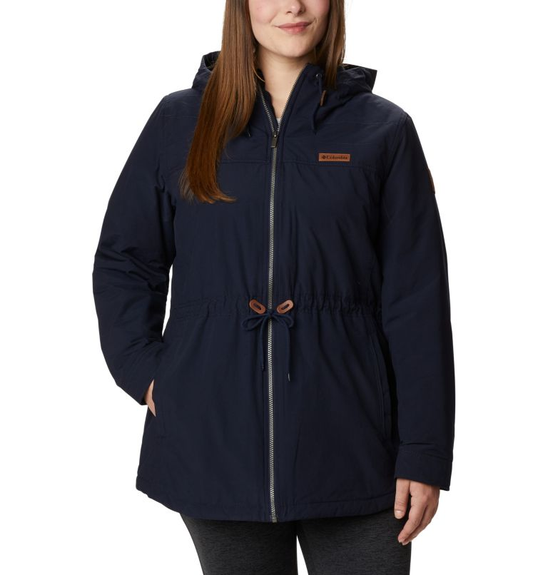 Chatfield Hill™ Jacket | 472 | 1X Women's Chatfield Hill™ Jacket - Plus Size, Dark Nocturnal, front