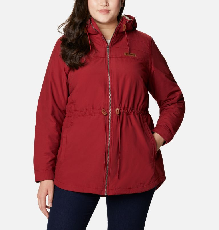 Chatfield Hill™ Jacket | 607 | 3X Women's Chatfield Hill™ Jacket - Plus Size, Beet, a4