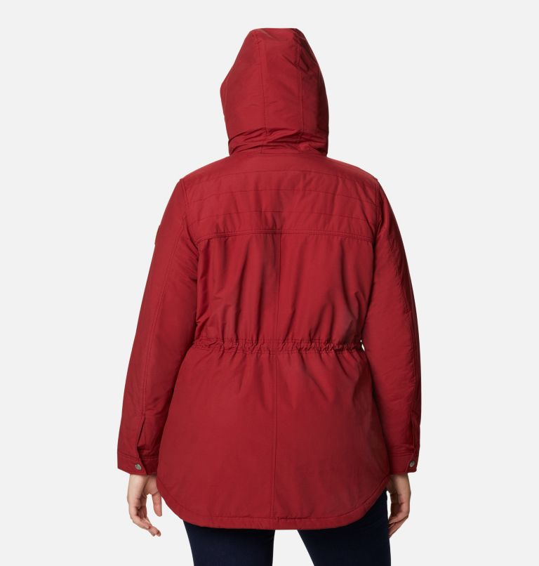Chatfield Hill™ Jacket | 607 | 3X Women's Chatfield Hill™ Jacket - Plus Size, Beet, back