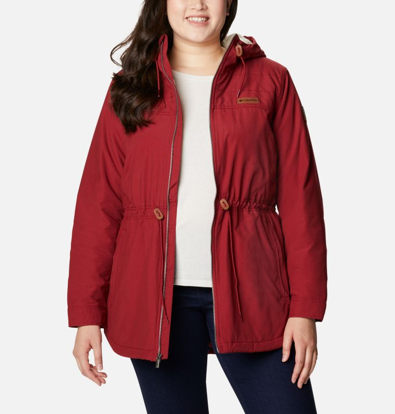 Chatfield Hill™ Jacket | 607 | 3X Women's Chatfield Hill™ Jacket - Plus Size, Beet, front