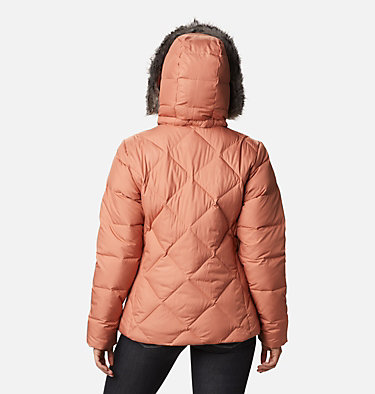 Icy Heights™ II Daunenjacke für Damen Icy Heights™ II Down Jacket | 011 | XS, Nova Pink, back