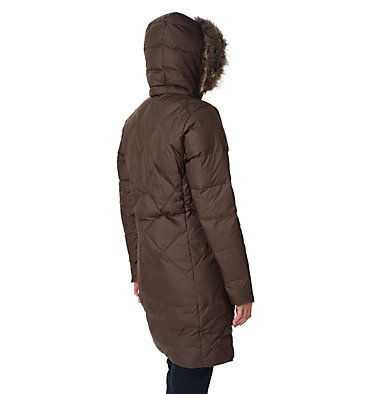 Icy Heights™ II Mid Length Daunenjacke für Damen Icy Heights™ II Mid Length Dow | 010 | L, Olive Green, back