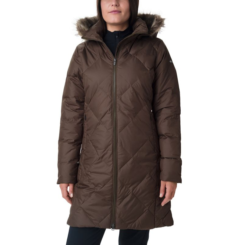 Women's Icy Heights™ II Mid Length Down Jacket Women's Icy Heights™ II Mid Length Down Jacket, front
