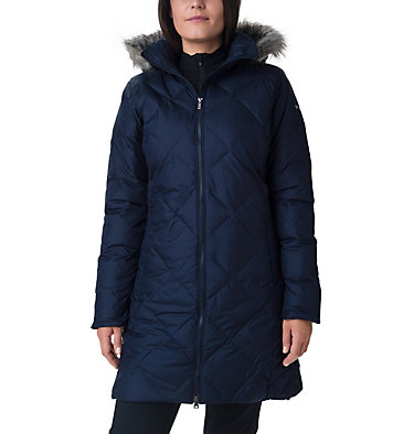 Icy Heights™ II Mid Length Daunenjacke für Damen Icy Heights™ II Mid Length Dow | 010 | L, Dark Nocturnal, front