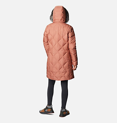 Icy Heights™ II Mid Length Daunenjacke für Damen Icy Heights™ II Mid Length Dow | 010 | L, Nova Pink, back