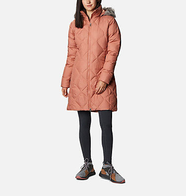 Icy Heights™ II Mid Length Daunenjacke für Damen Icy Heights™ II Mid Length Dow | 010 | L, Nova Pink, front