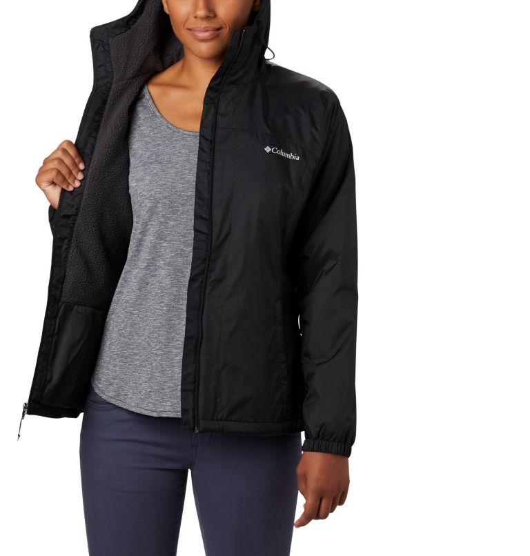 Switchback™ Sherpa Lined Jacket | 010 | XS Women's Switchback™ Sherpa Lined Jacket, Black, a1