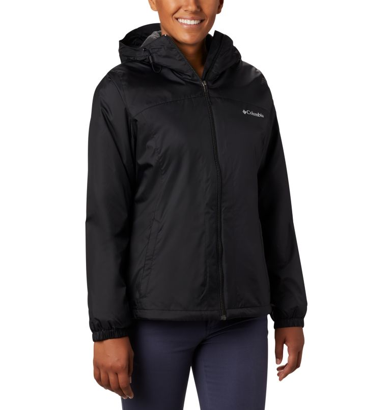Switchback™ Sherpa Lined Jacket | 010 | XS Women's Switchback™ Sherpa Lined Jacket, Black, front