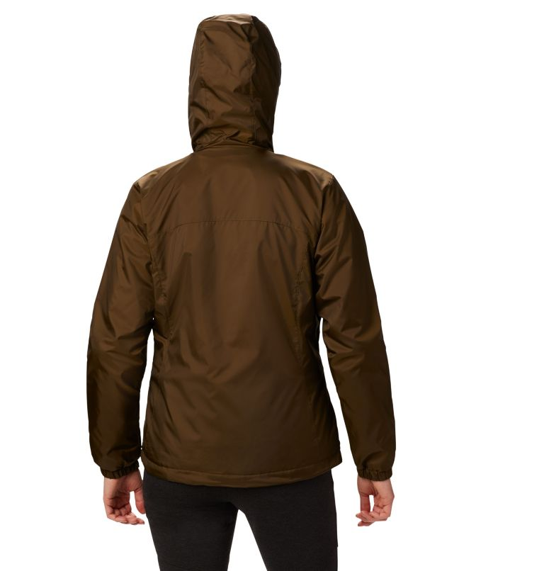 Switchback™ Sherpa Lined Jacket | 319 | XS Women's Switchback™ Sherpa Lined Jacket, Olive Green, back