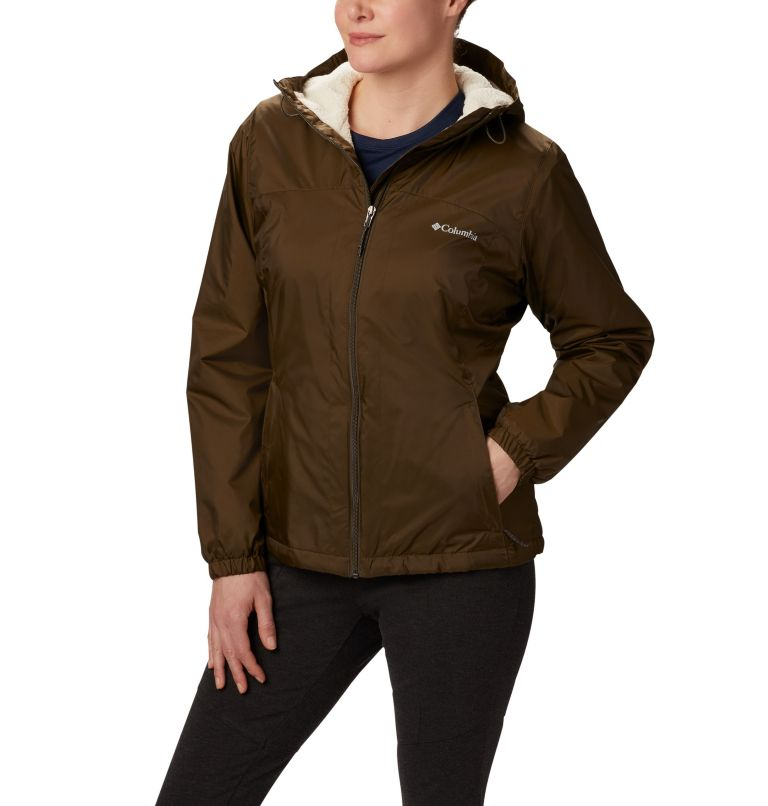 Switchback™ Sherpa Lined Jacket | 319 | XS Women's Switchback™ Sherpa Lined Jacket, Olive Green, front