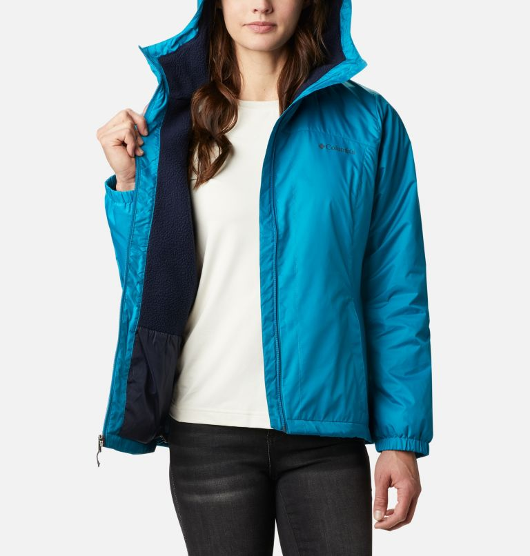 Switchback™ Sherpa Lined Jacket | 462 | XS Women's Switchback™ Sherpa Lined Jacket, Fjord Blue, a3