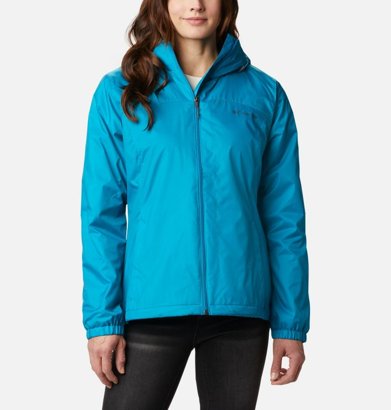 Switchback™ Sherpa Lined Jacket | 462 | XS Women's Switchback™ Sherpa Lined Jacket, Fjord Blue, front