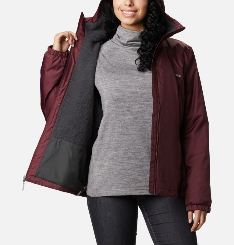 Switchback™ Sherpa Lined Jacket | 671 | L Women's Switchback™ Sherpa Lined Jacket, Malbec, a3