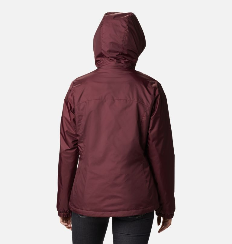 Switchback™ Sherpa Lined Jacket | 671 | L Women's Switchback™ Sherpa Lined Jacket, Malbec, back