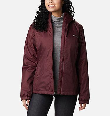 Women's Switchback™ Sherpa Lined Jacket Switchback™ Sherpa Lined Jacket | 671 | M, Malbec, front
