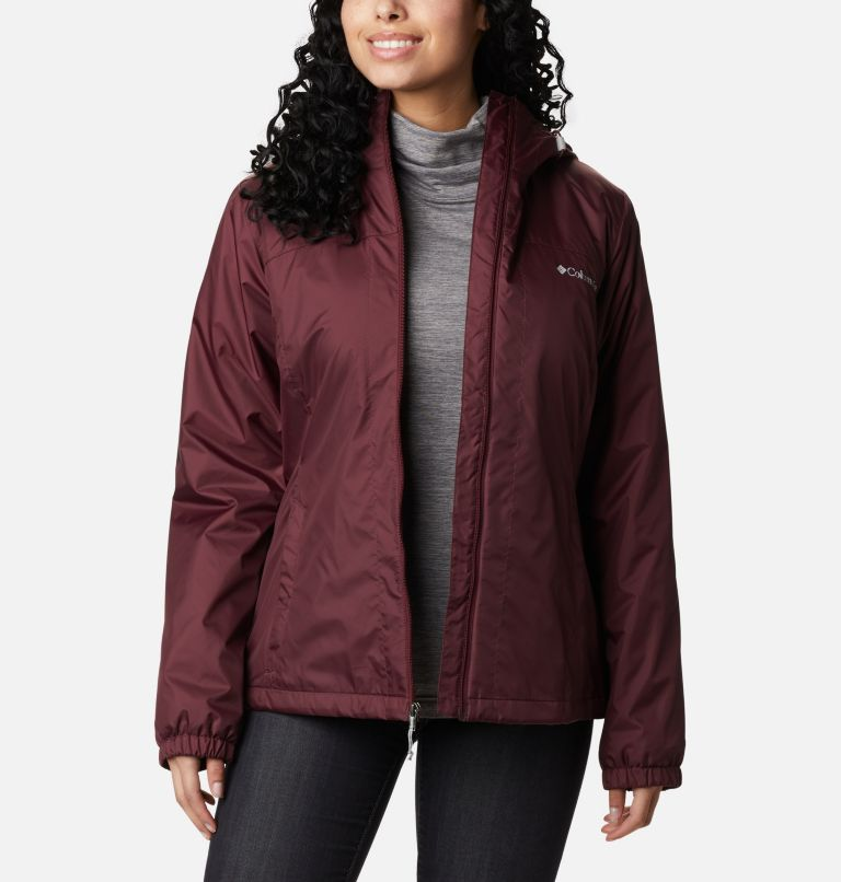 Switchback™ Sherpa Lined Jacket | 671 | L Women's Switchback™ Sherpa Lined Jacket, Malbec, front