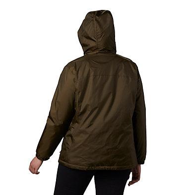 Women's Switchback™ Sherpa Lined Jacket - Plus Size Switchback™ Sherpa Lined Jacket | 410 | 3X, Olive Green, back