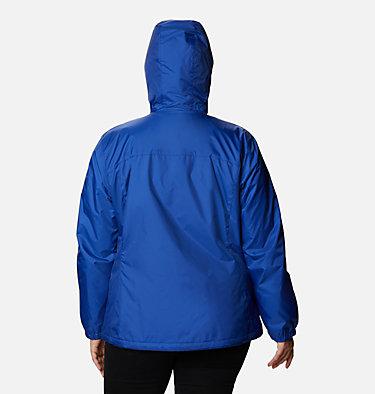 Women's Switchback™ Sherpa Lined Jacket - Plus Size Switchback™ Sherpa Lined Jacket | 410 | 3X, Lapis Blue, back