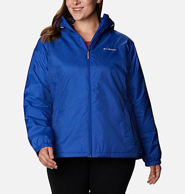 Women's Switchback™ Sherpa Lined Jacket - Plus Size Switchback™ Sherpa Lined Jacket | 410 | 3X, Lapis Blue, front