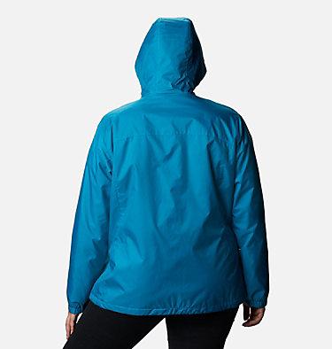 Women's Switchback™ Sherpa Lined Jacket - Plus Size Switchback™ Sherpa Lined Jacket | 410 | 3X, Fjord Blue, back
