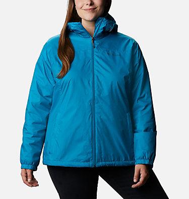 Women's Switchback™ Sherpa Lined Jacket - Plus Size Switchback™ Sherpa Lined Jacket | 410 | 3X, Fjord Blue, front