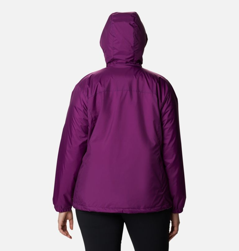 Women's Switchback™ Sherpa Lined Jacket - Plus Size Women's Switchback™ Sherpa Lined Jacket - Plus Size, back
