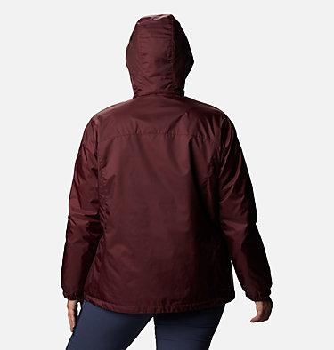 Women's Switchback™ Sherpa Lined Jacket - Plus Size Switchback™ Sherpa Lined Jacket | 410 | 3X, Malbec, back