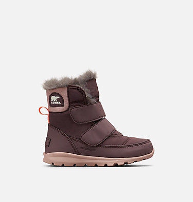 Children's Whitney™ Velcro Strap Boot CHILDRENS WHITNEY™ STRAP | 574 | 12, Purple Sage, Mauve Vapor, front