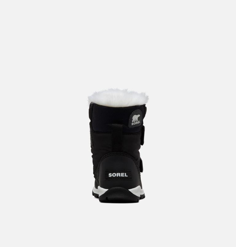 TODDLER WHITNEY™ STRAP | 010 | 5 Toddler's Whitney™ Strap Boot, Black, Sea Salt, back