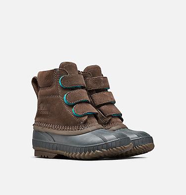 Children's Cheyanne™ II Velcro Strap Boot CHILDRENS CHEYANNE™ II STRAP | 286 | 11, Major, Coal, 3/4 front