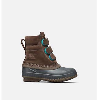 Botte « Duck boot » à bande Velcro Cheyanne™ II pour jeunes enfants