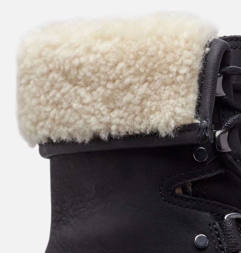 AFTER HOURS™ LACE SHEARLING | 010 | 12 Women's After Hours™ Lace Shearling Boot, Black, a1