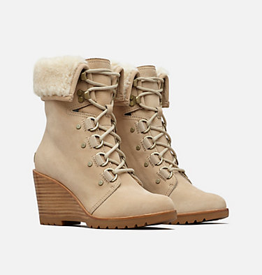 Women's After Hours™ Lace Shearling Boot AFTER HOURS™ LACE SHEARLING | 010 | 12, Oatmeal, 3/4 front