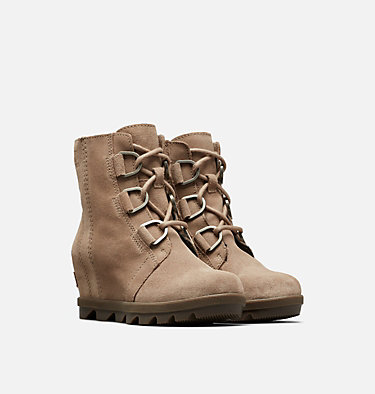 Big Kids' Joan of Arctic™ Wedge II Boot  YOUTH JOAN OF ARCTIC™ WEDGE II | 224 | 1, Ash Brown, Black, 3/4 front