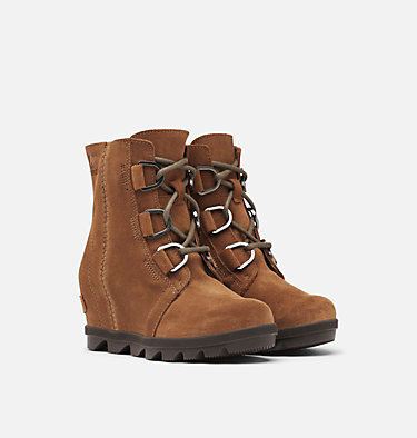 Big Kids' Joan of Arctic™ Wedge II Boot  YOUTH JOAN OF ARCTIC™ WEDGE II | 224 | 1, Velvet Tan, 3/4 front